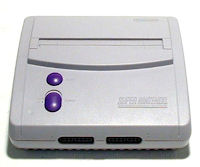 Super Nintendo Entertainment System Second Edition Small System Picture