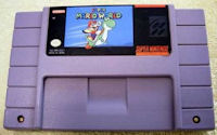 Super Nintendo Entertainment Super Mario World Game Cartridge